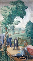 Paintings by the artist Mary Adshead