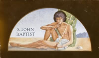 Artist Henry J Hunt: St. John the Baptist, 1929
